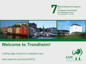 7th World Research Congress of the EAPC in Trondheim