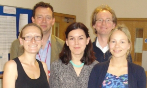 Annabel Price, Laura Goodwin and Lauren Rayner. Matthew Hotopf and William Lee