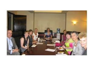 The new Taskforce meets in Canada, July 2012