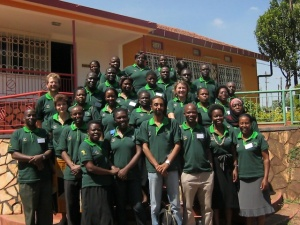 Course participants: the first Advanced Skills Research course, Kampala