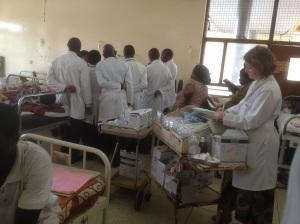 Ward 4a at Mulago Hospital, Kampala