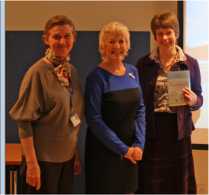 Left to right: Dr Jo Hockley, Prof Joyce Simard and Min Stacpoole