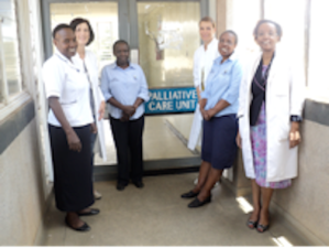 Kenyatta Hospital Palliative Care Unit Team