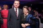 Charity Ball: Zoran Purković, Director of BELhospice, with Princess Marina Sturdza, patron of Hospices of Hope