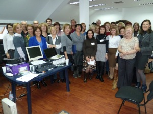 Social workers from all over Serbia attend the course in Belgrade