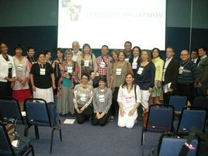 The Atlas team at the Latin American Congress 2012 in Curitiba, Brazil