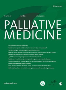 A fresh new look: Palliative Medicine