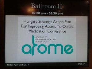 The ATOME Conferece – in a ballroom