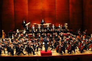 Antonin Dvorak's 'New World Symphony' no. 9 performed by the Montenegrin Philharmonic Orchestra. (Courtesy Fly Jacob via Wikimedia Commons)