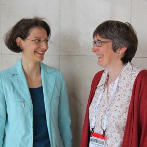 Task force co-chairs: (Left to right} Elisabeth Reitinger and Katherine Froggatt