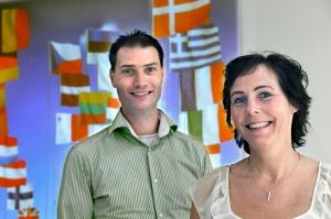 Dr Jeroen Hasselaar and Dr Marieke Groot