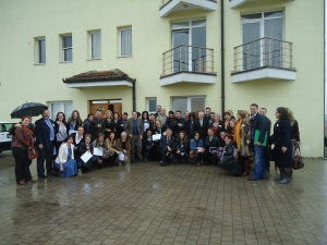 Delegates of the 4th Balkan palliative care conference at the Smile Centre, Gjakovë, Kosova