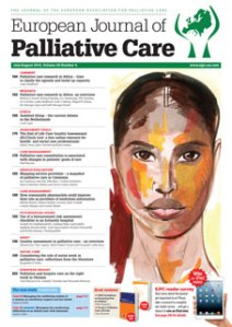 Read a longer version of this post in the July/August issue of the European Journal of Palliative Care