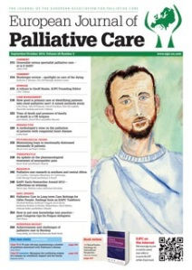 Read the full article in the September issue of the European Journal of Palliative Care