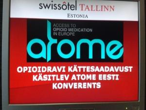 ATOME Sign Board