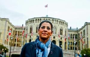 Natasha Pedersen. Photograph: © Stein J Bjørge, Aftenposten