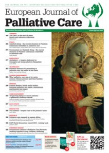 Read the full article in the November/December issue of the European Journal of Palliative Care