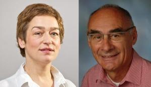 Angela Hörschelmann and Prof Dr Ulrich Bonk