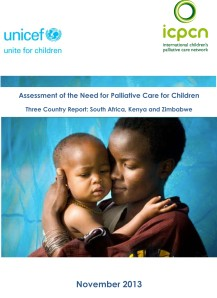 The report assesses critical needs and gaps in children's palliative care