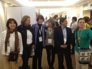 Twenty years later: members of the first Columbian palliative care team that started a service in Kali in 1992 meeting again at the congress in Medellin in 2014