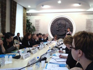 Hearing at the Public Chamber of the Russian Federation