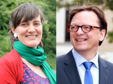 Prof Dr Lieve Van den Block (left) and Prof Dr Luc Deliens, Project Coordinators EURO-IMPACT End-of-life Care Research Group, Vrije Universiteit Brussel (VUB) & Ghent University, Belgium