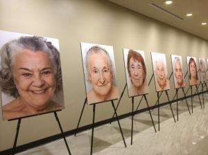 Exhibition of photographs  of older women by Zulma Recchini