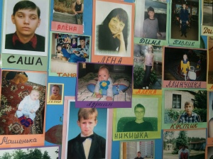 Some of the children who have received support from Belarusian  Children's Hospice