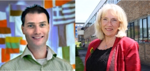 Guest editors of the special edition of Palliative Medicine:  Dr Jeroen Hasselaar and Professor Sheila Payne
