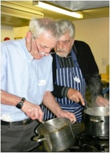The cookery group at St Nicholas Hospice Care addresses the practical and social dimensions of grief work