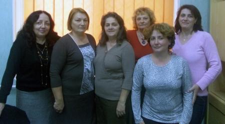 Members of the Fagaras rural hospice team