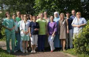 St Lazarus Hospice: members of the hospice inpatient team