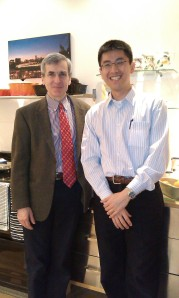 Professor Julian Hughes (University of Newcastle) with Dr Ping-Jen Chen