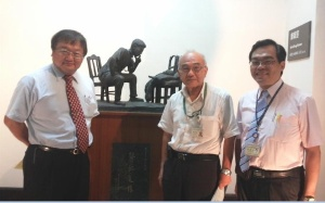 Professor Tai-Yuan Chiu, Professor Ching-Yu Chen and Dr Chien-An Yao