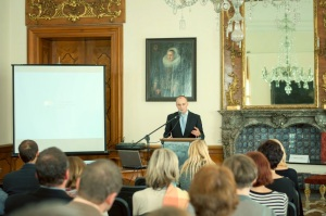 The Center for Palliative Care, Prague: the opening symposium was attended by clinicians and academics from across the country and from neighbouring Slovakia