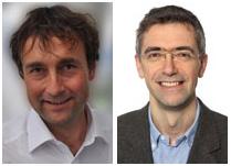 Left to right: Prof Georg Markmann and Dr Jürgen in der Schmitten