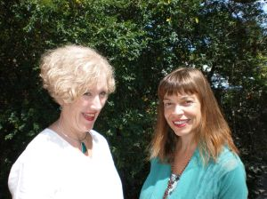 Prof Margaret O'Connor (left) and Suzanne Peyton