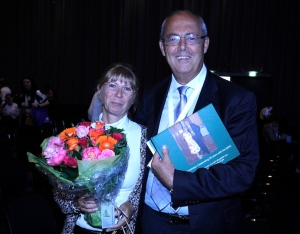 Heidi with her husband, Dr Franco De Conno, Honorary Director of the EAPC
