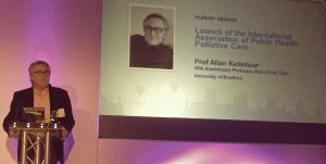 Professor Allan Kellehear, incoming Chair of the Public Health Palliative Care Association