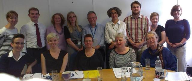 Members of the steering group: Palliative and end of life care Priority Setting Partnership