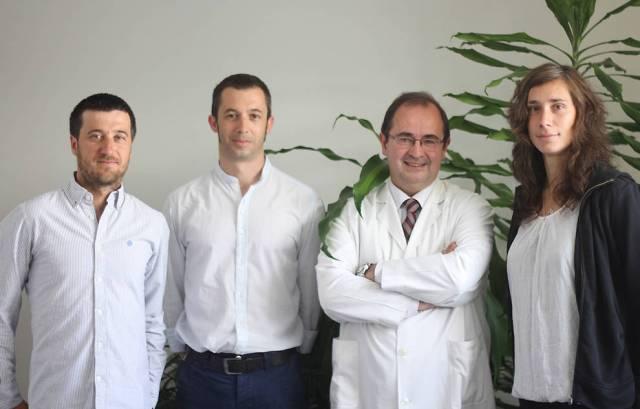 Quelques-uns des auteurs de l'étude: (de gauche à droite) Eduardo Garralda, José Miguel Carrasco, Carlos Centeno et Kathrin Woitha