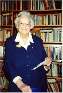 Dame Cicely Saunders 1918-2005. Founder of the modern hospice movement and St  Christopher's Hospice
