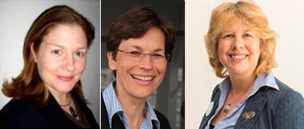 Left to right: Dr Barbara Daveson, Prof Claudia Bausewein and Prof Irene Higginson