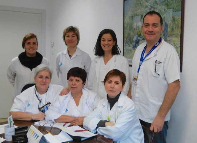 The palliative care team, Arnau de Vilanova Hospital, Lleida