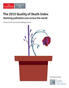 2015 EIU Quality of Death Index