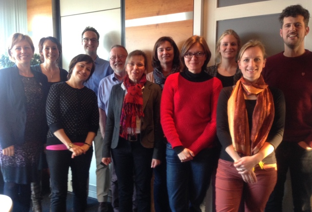 Members of the EU-funded project INSUP-C
