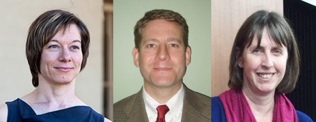 Guest editors: (l to r) Dr Nikki McCaffrey, Dr Brian Cassel and Prof Jo Coast