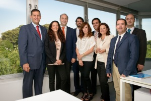 Members of the NewHealth Foundation, a non-profit organization aimed at promoting a new integrated health and social care model through the development of palliative care programmes in Spain and Latin America.