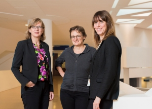 Members of the ACTION consortium: (Left to right) Ida Korfage, Agnes van der Heide and Judith Rietjens