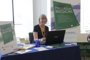 Palliative Medicine Editorial Manager, Debbie Ashby